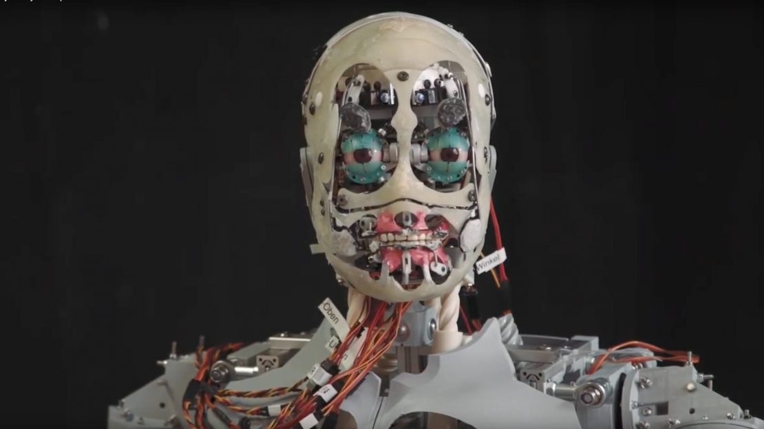Automated lip-sync for animatronics – Uncanny Valley